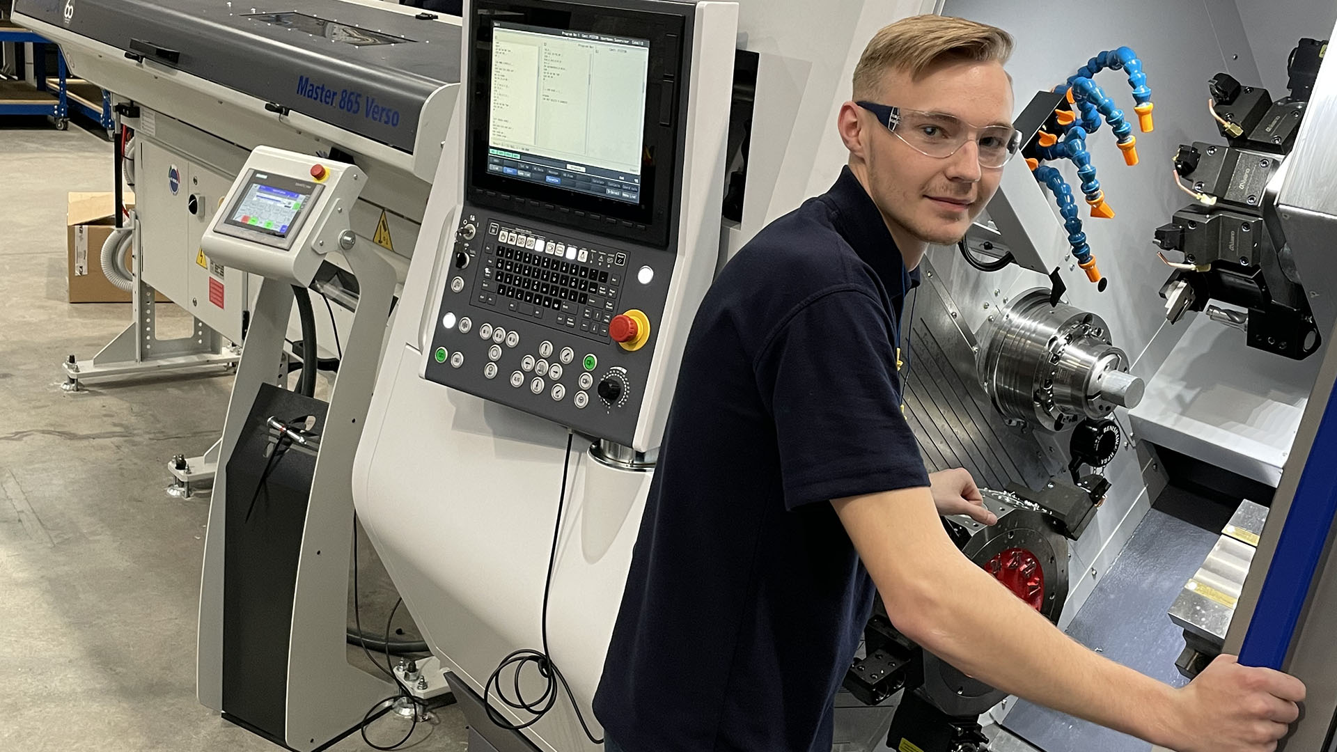 Case study – Ben Bott: The Bradford Manufacturing Weeks pupil who became 2021 Apprentice of the Year