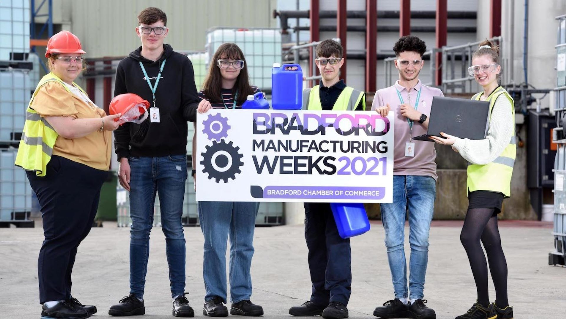 Bradford's manufacturers sign up to engage with pupils from 45 local schools