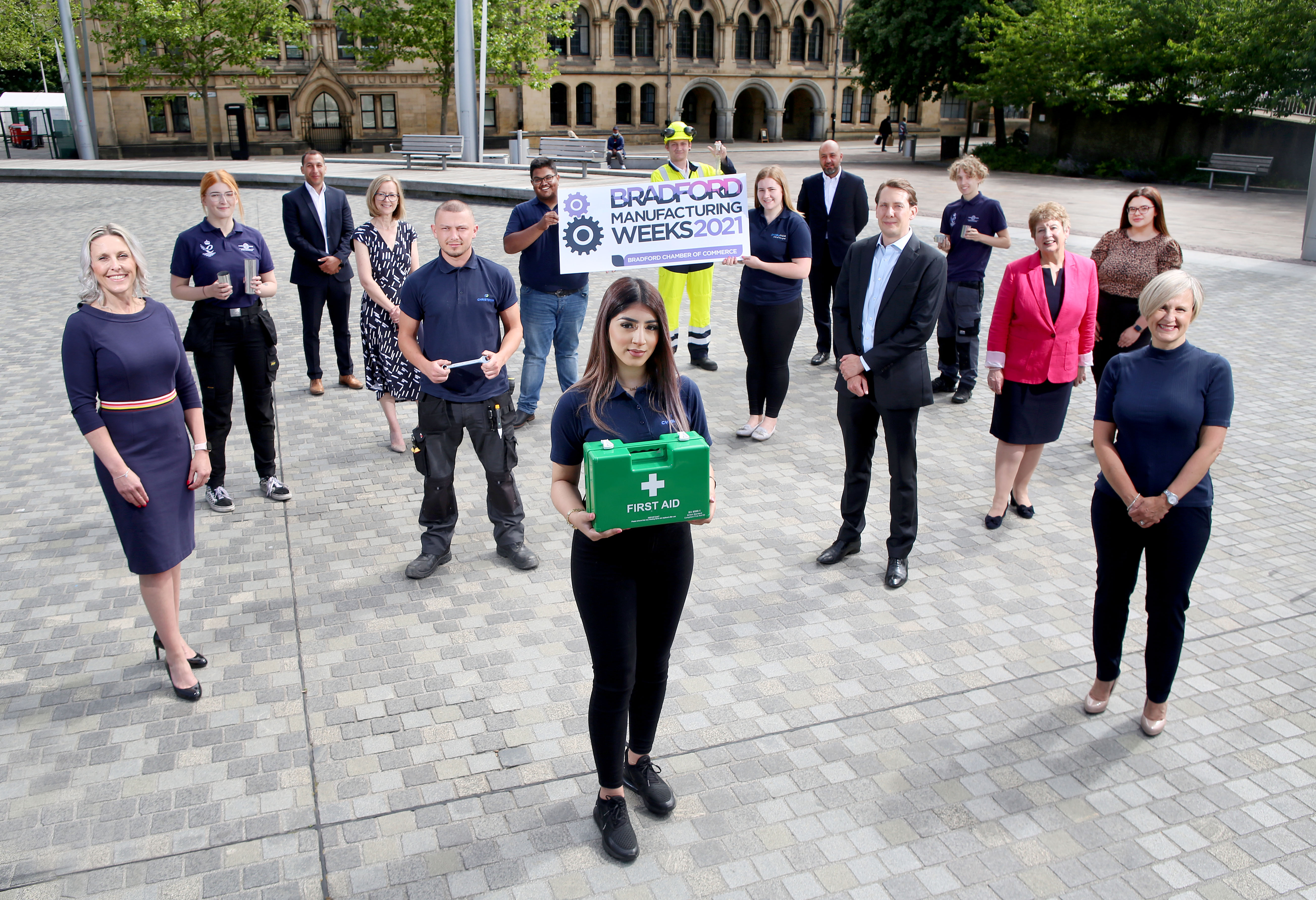 Bradford Manufacturing Weeks 2021 deploys apprentice task force to help inspire pupils