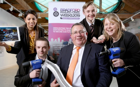 Schools target almost reached for Bradford Manufacturing Weeks 2019