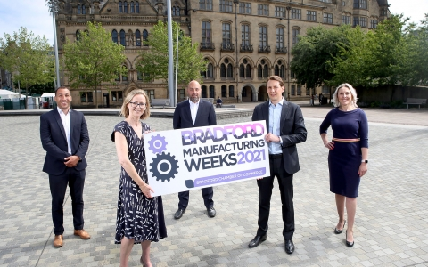 Bradford Manufacturing Weeks 2021 – Recycling School Waste Competition